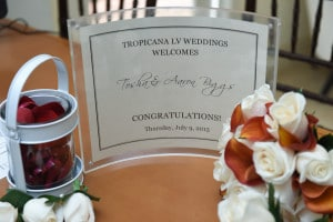 Tropicana Las Vegas Wedding