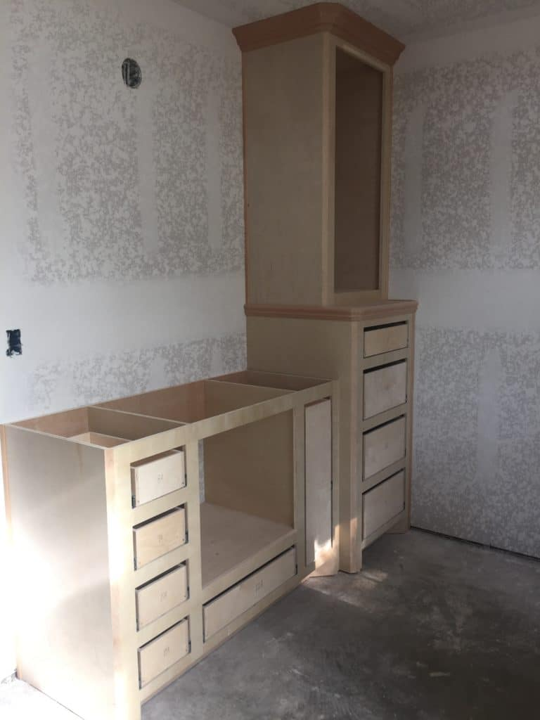 Master Bath with Linen
