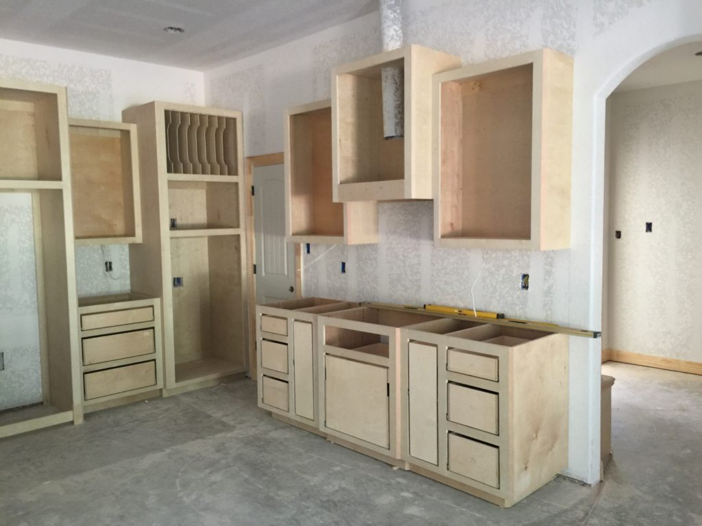 Kitchen Unfinished